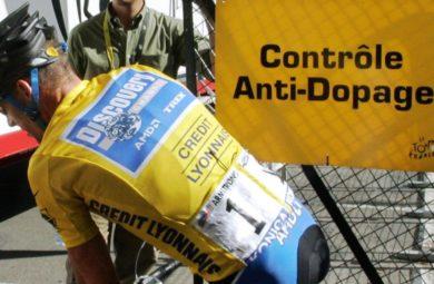 Contrôle anti-dopage sport tour de france cyclisme
